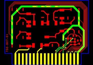 Gold Fingers PCB Design