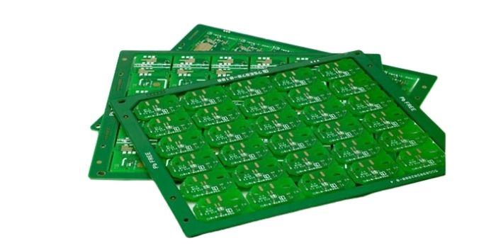 2 layer PCB stackup
