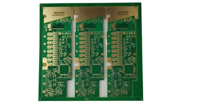Components of 8 layers PCB stack up