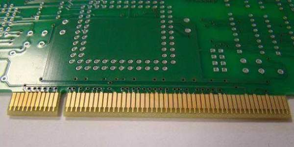 A simple PCB gold finger