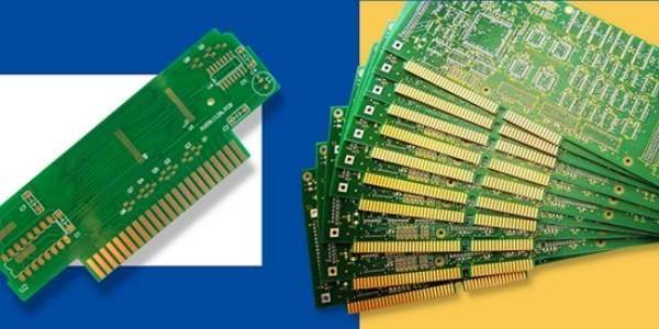 A uniform PCB gold finger example