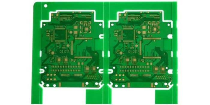 Two sided RF PCB
