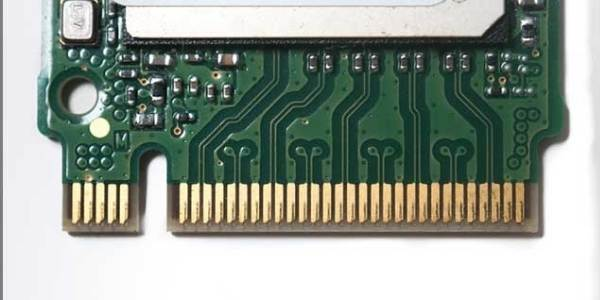 The beveling of edge conectors on PCB gold finger