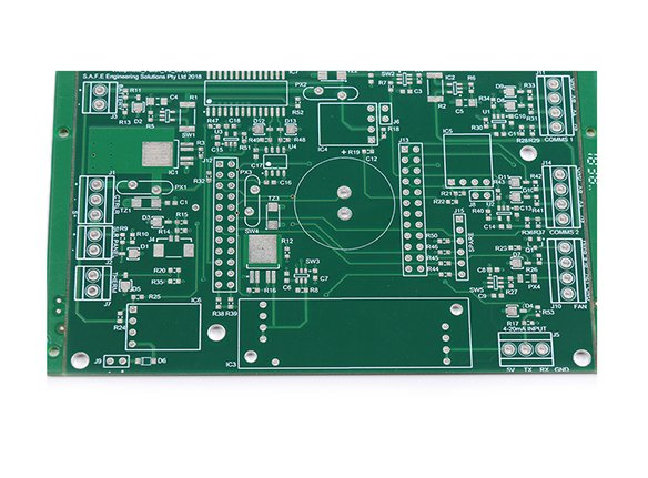 Fr4 Double Sided PCB for Energy Meters