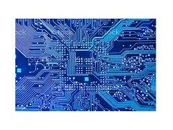 Blue PCB Surface Finish