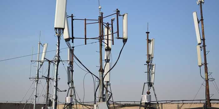 Celular Base station use Rogers PCB