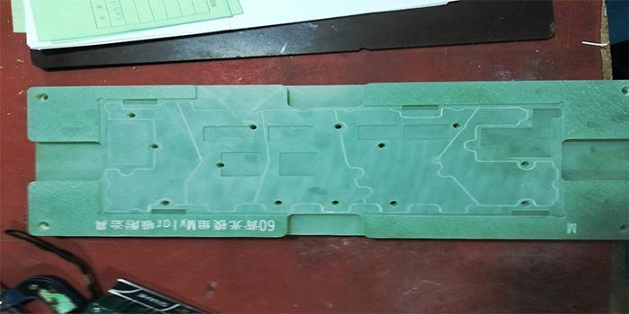 The material epoxy resin fiberglass for the making of the inverter power board