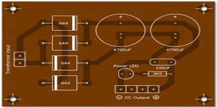 Bridge Type Power Supply PCB