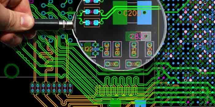gerber File In Through Hole PCB Assembly