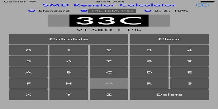 SMD Resistor Calculator