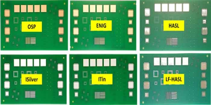 Different Types Of Surface Finish PCB