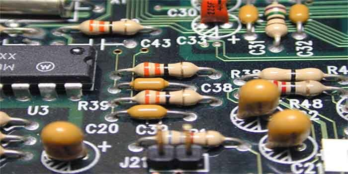 Through-hole PCB Assembly Components