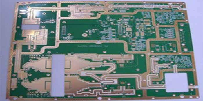 The PCB having 3003 laminate material increasing its performance
