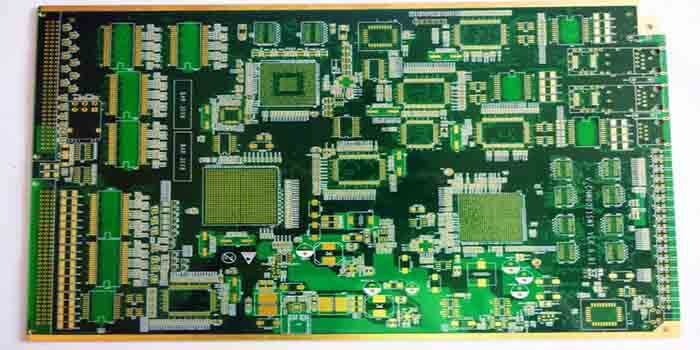 Fabricated multi-layer military PCB