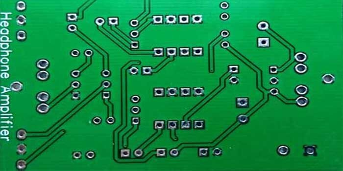The design of an amplifier PCB