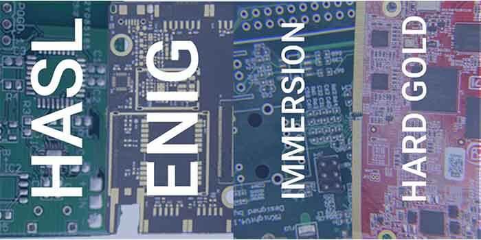 Metallic Surface Finish PCB