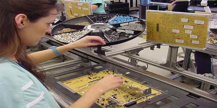 Manual Through-hole PCB Assembly
