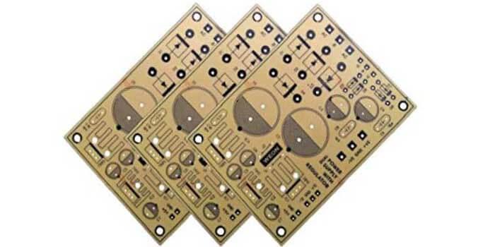 Dual Power Supply PCB