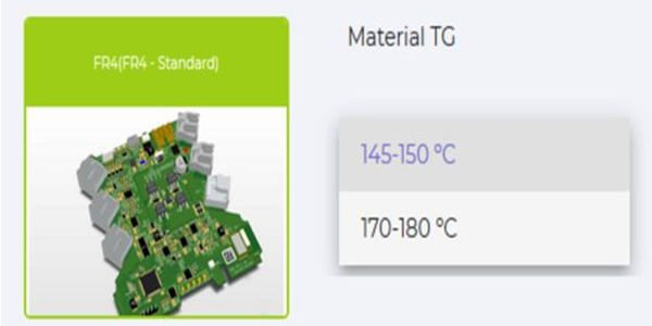 The FR4 material used for High TG PCB