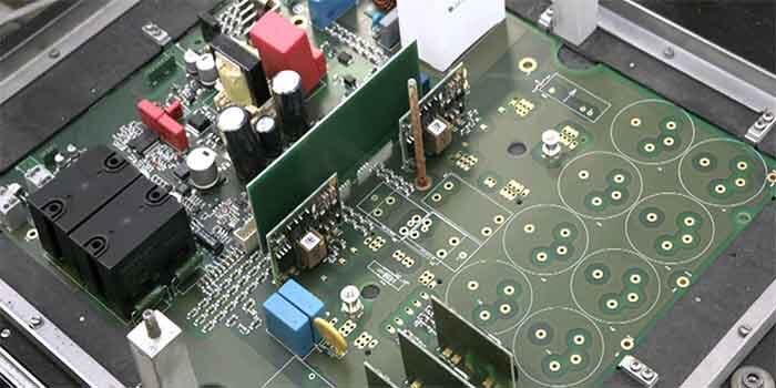 The manufacturing process of the Inverter power board