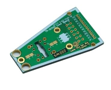 Hard Gold PCB with Board Edge Plated