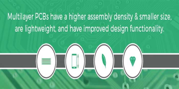 Advantages of using Multilayered PCBs