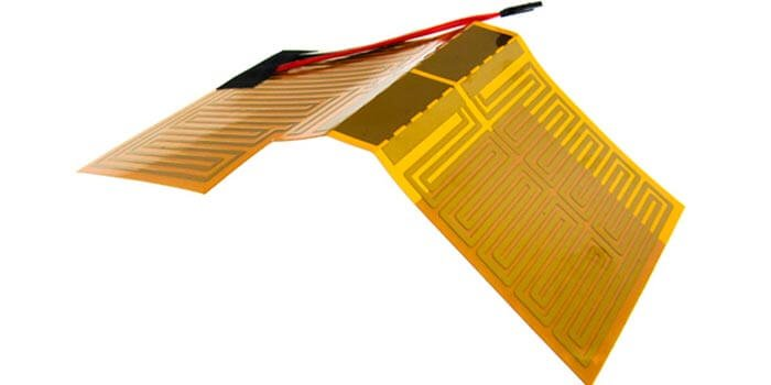 Polyimide flexible heater
