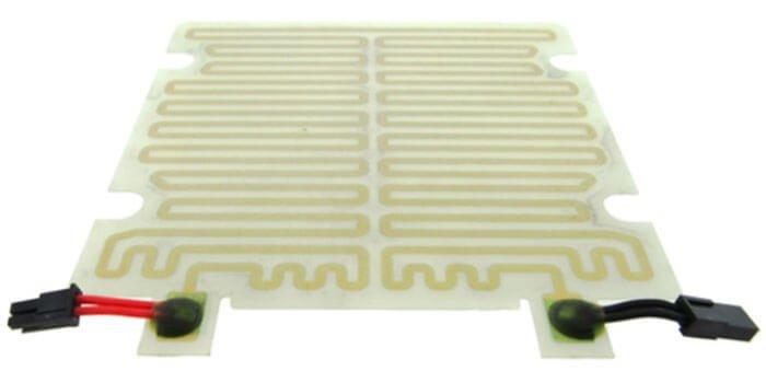 Screen printed heater