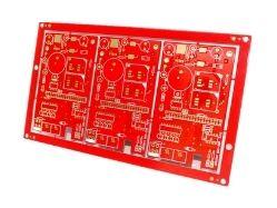 Red Soldermask Ventec PCB