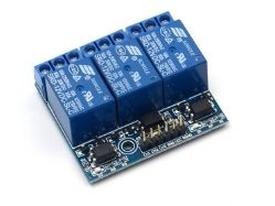 3-Channel Relay Board PCB