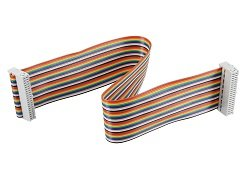 30cm Rainbow Cable Dupont Line Male Female
