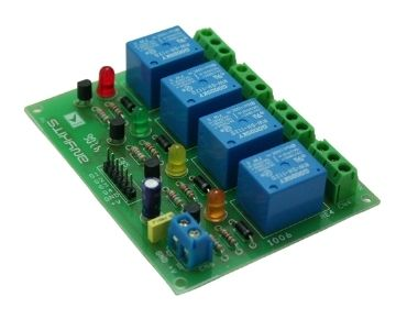 4 Channel Relay PCB