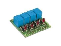 4 Relay PCB 9V