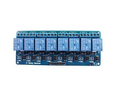 8 Relay Board PCB