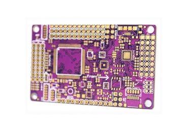 Electronic Purple PCB