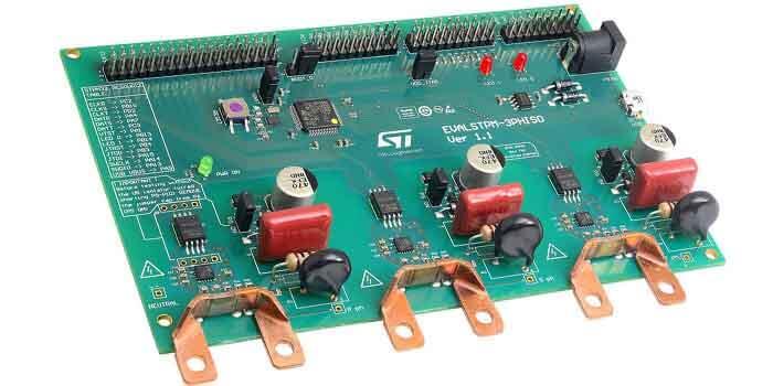 Three phase energy meter PCB