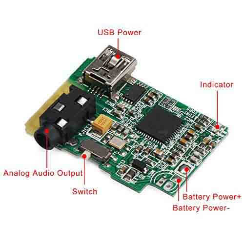 Wireless Speaker circuit Board