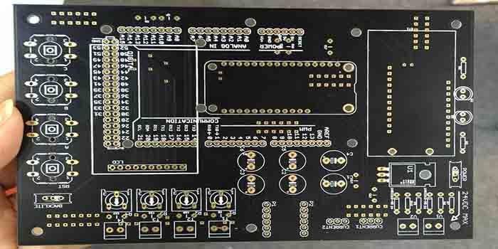 A high-tech Black PCB