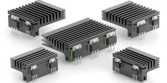 The heatsink for 4 Oz copper PCB