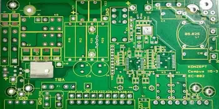 The manufacturing of the 4-layer PCB