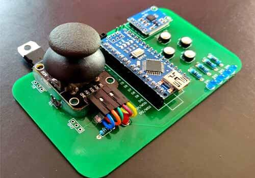 Remote PCB Low Dielectric constant