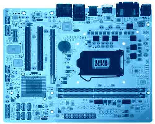 X-Ray Inspection of PCB