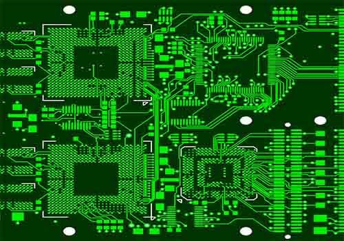 Yellow PCB Layout