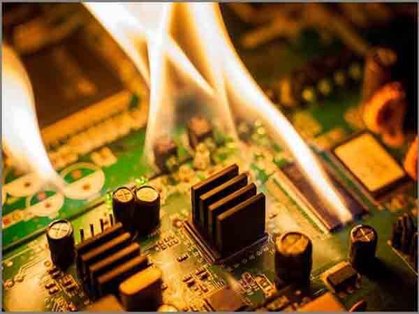Thermal Characteristics of Inverter PCB