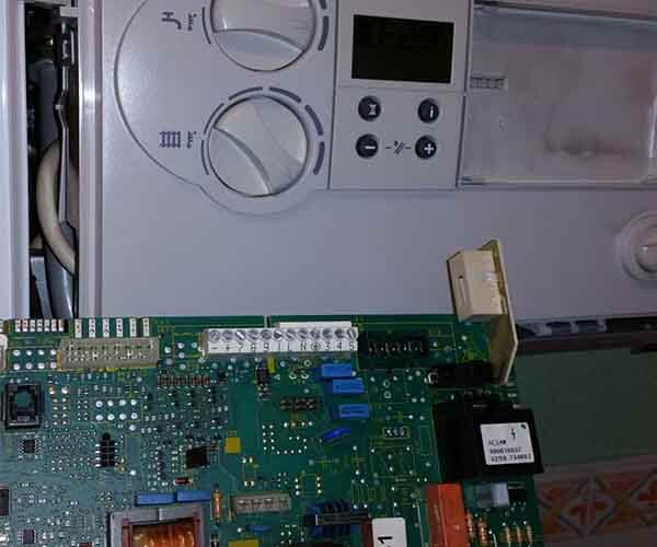 Reset Boiler PCB