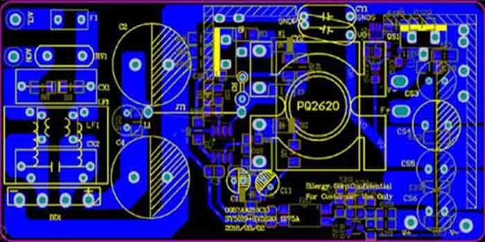 Customized DC-DC converter PCB