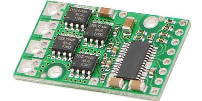 Highly Functional Motor Driver PCB