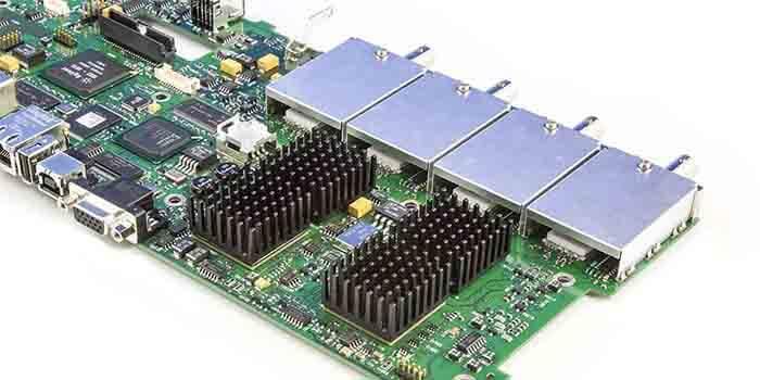 Transmitter PCB EMI Reduction