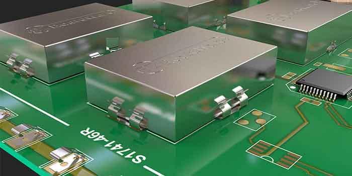 Transmitter PCB EMI Shielding