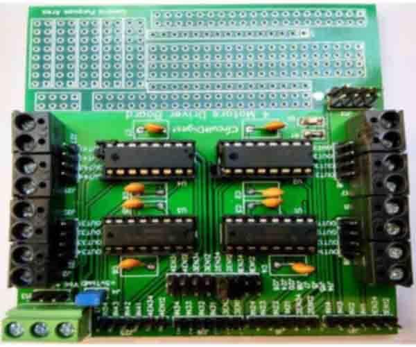 Motor Driver PCB